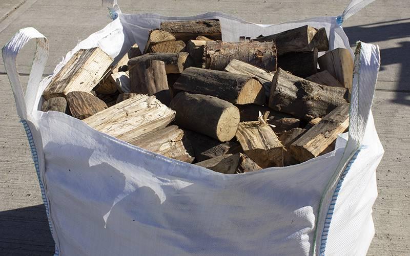 Hardwood bulk bag of logs – approx. 0.7 cubic metres