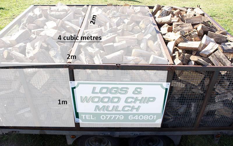 Premium logs 4 cubic metres