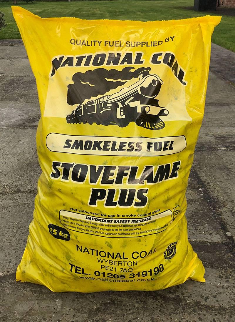 Stoveflame Plus smokeless fuel 25kg